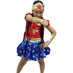 Disfraz Disfraces Mujer Maravilla Niña Halloween 63d9602436eb