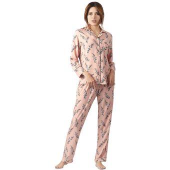 ccd4b5203c Compra Conjunto Pijama Mujer Noite Pink Flowers online