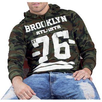 0fa6c85481c30 Compra Buzo Juvenil Marketing Personal Para Hombre Camuflado online ...