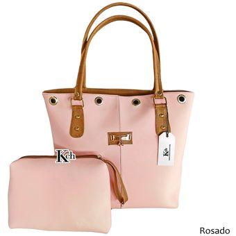 e30b7c244 Compra Bolso Cartera Mujer Dama KCh Hana Color Rosa Grande online ...