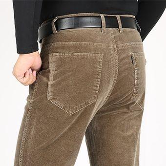 Pantalones De Pana Para Hombre Pantalones Gruesos Calidos De Cintura Alta Pantalones De Invierno Para Hombre Pantalones Sueltos Rectos Pantalones Casuales Para Hombre Wt Ab99 6 Yellow Khaki Linio Peru Ge582fa1anyyjlpe