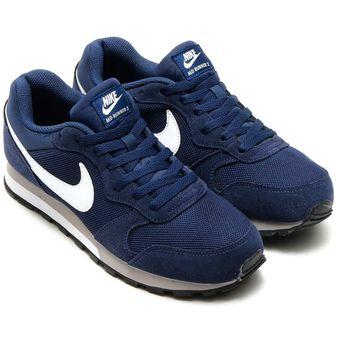 timeless design 21658 1ec01 Zapatillas Deportivas Deportivos Hombre Nike MD Runner 2-Azul
