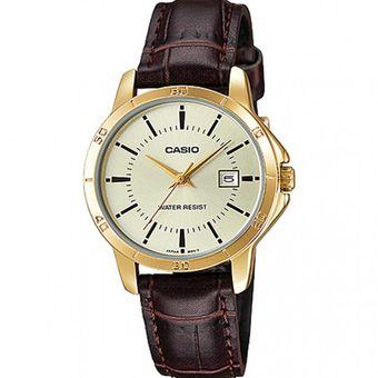 7907b24dadbc Compra Reloj Casio Mujer LTP-V004GL-9A Análogo Pulso Cuero ...
