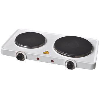 Compra cocina el ctrica encimera doble plato 2000 watts for Cocina encimera electrica