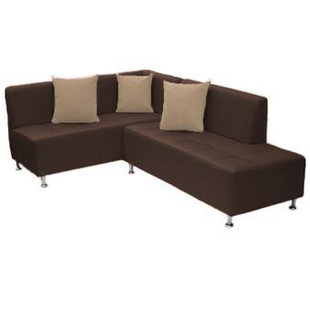 Compra sala en l con brazo izquierdo muebles fantasia for Muebles izquierdo