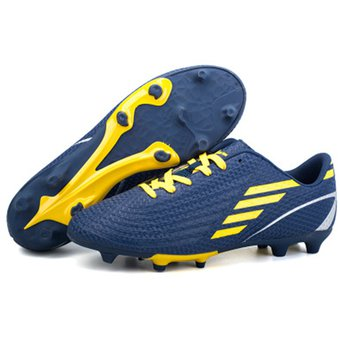 Zapatillas Hombres Para Fútbol Con Clavos Pequños Antideslizante - Azul  Marino c914c6e14dee9