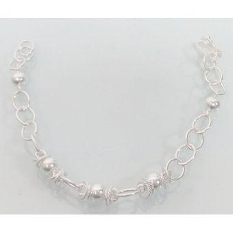 806f929944b3 Compra Hermosa Pulsera de plata 950 modelo Bolitas online