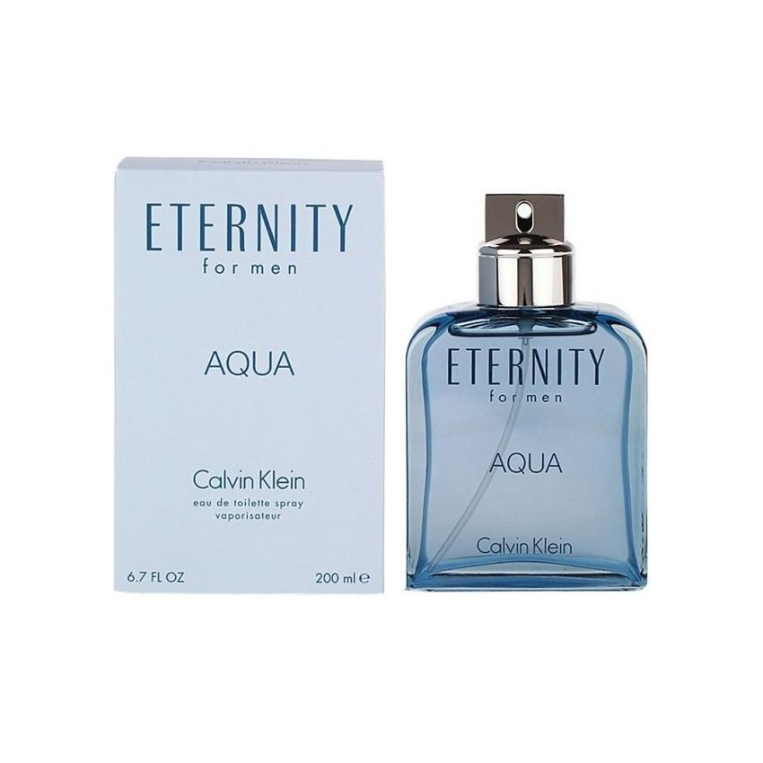 Perfume Calvin Klein Eternity Aqua Edt 200 Ml