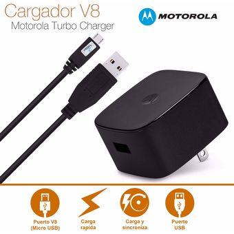 040fec36304 Agotado Cargador Turbo Power Charger Carga Rapida Motorola MICRO USB V8 15  WATTS