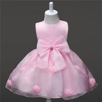 b41ba3ca38 Compra Vestido Casual Para Niña Y Bebés De Noche-rosa online