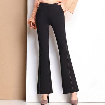 Pantalon Acampanado Pantalones Para Mujer Otono E Invierno Cintura Alta Linio Peru Ge006fa18h8k6lpe