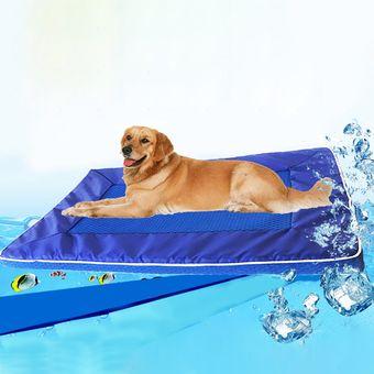 abe8b64c301f Summer Perro Pad Bed House PET Cool Down Pad Mat Cojin Desmontable De Perro