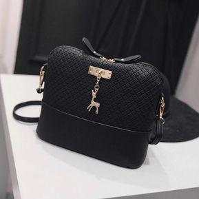 Eh La Moda De Las Mujeres En Bolsa.-Negro 3eebafb220656