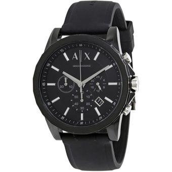 9fac139e7f58 Compra Reloj Armani Exchange AX1326 Analógico Hombre - Negro ...