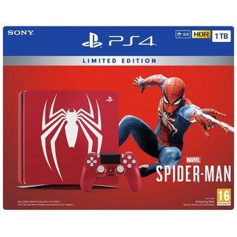 Consola PS4 Slim 1TB Spiderman Limited Edition