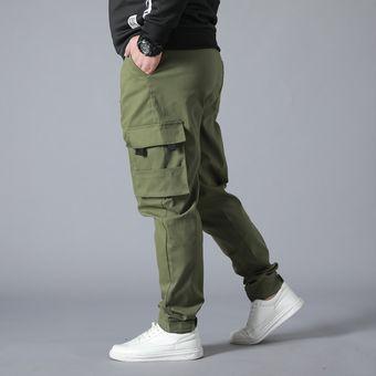 Pantalones Multibolsillos Resistentes Al Desgaste Pantalones De Trabajo De Talla Grande Monos Jogger Pantalones Informales De Algodon Superholgado Para Hombre Cui Army Green Linio Peru Ge582sp1bpj9vlpe