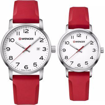 8ee0e7b2e4d3 Pareja de Reloj Wenger Avenue TIME SQUARE