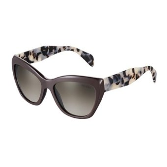 e405c39252 Compra Lentes De Sol Prada Opr 02qs Dho4m1 Brown Cat Carey online ...