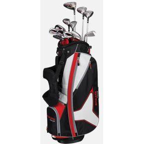 17832b63ecd2c Agotado Full Set De Golf Strata Tour 18 Pcs W  Bag   Headcovers Stiff RH