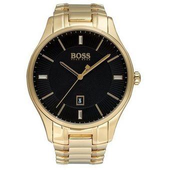 9684f98a401f Compra Reloj Hugo Boss Governor 1513521 Para Caballero-Dorado online ...