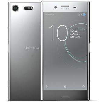 Sony Xperia XZ Premium 4+64GB Dual Sim Plata
