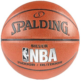Balon Baloncesto Basketball Spalding Silver Indoor Outdoor 100% Original En  Cuero 2cf2ae7caa7aa