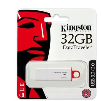 la Vuelta al cole Pen Drive 32 Gb Kingston Usb 2.0/3.0/3.1 Dtig4 Pc Notebook