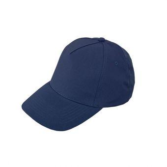 Gorra Cachucha Golf En Dril De 5 Cascos Visera Indeformable - Azul Oscuro 0b11ca708b0