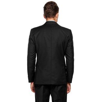 3f8f502daf6fe Compra Traje De Suit De Oficina Formal Ajustado Para Hombre-negro ...