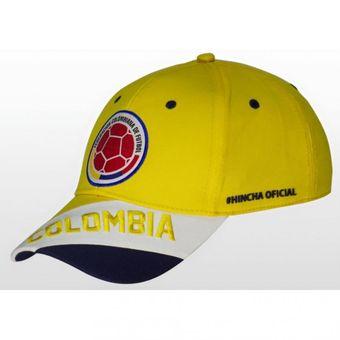 Agotado Gorra Selección Colombia de Fútbol FCF OFICIAL ref. FCFD04 color  amarillo 3ce8bdd98a5