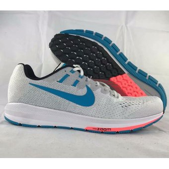 244e6d6be4d Compra Nike hombres Air Zoom Structure 20 Blanco 849580-100 online ...