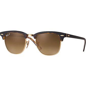 Compra Anteojos de sol lentes Ray Ban Mujer Clubmaster W3066 + ... 2e0d357d04c6