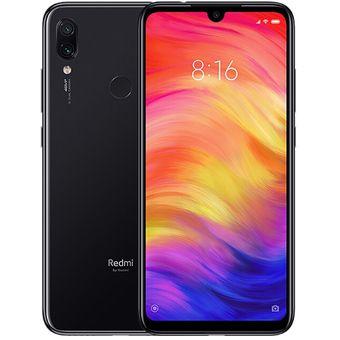 Celular Xiaomi Redmi Note 7 64gb/4gb Cam 48mpx Snap 660-Negro semana de las marcas