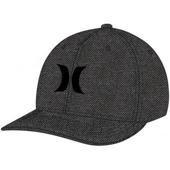 Compra Gorra Hombre Hurley Black Suits Outline-Gris online  64f460f39fd
