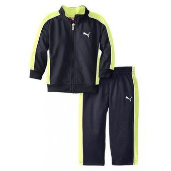 53bf2c2ddb Compra PUMA - conjunto para bebe casaca y pantalon PUMA - azul ...