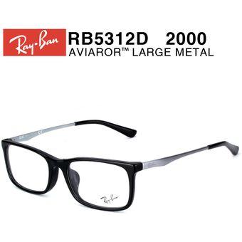 3af7082e29 Agotado Lentes De Medida Oftálmico Montura Ray Ban RB5312D 2000 Black 54mm