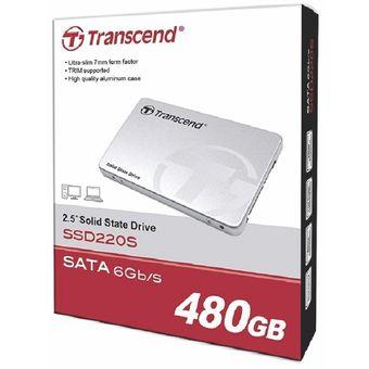 Disco Duro Solido 480 GB - SATA 6Gb/s SSD220 - Gris