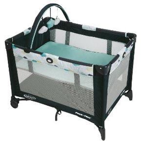 75d3b3813 Corralito para bebé con cuna extraíble portátil Graco On The Go- Stratus