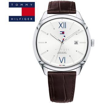 6a15d998 Agotado Reloj Tommy Hilfiger Clark 1710364 Acero Inoxidable Correa De Cuero  - Marrón