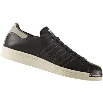 promo code 8adb7 e7028 Zapatilla Adidas SuperStar 80s Decon Para Hombre - Negro