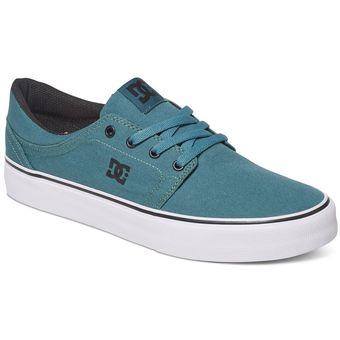 Mens Chaussures De Sport, Bleu, Chaussures De Sport De Marque Dc Mens Trase Modèle Dc Tx M Bleu