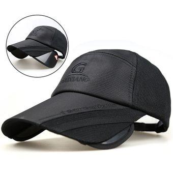Sombrero De Verano Retráctil Visera Hombres Y Mujeres De Protección Solar  Pesca Fresca Gorra Coreana Sombrero 8740eddf57e
