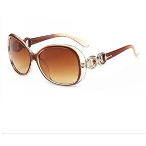 c193675c2b Agotado Clásico Grande Marco Gafas De Sol Mujer Ocio Ojo Los Anteojos Con  Gradiente Lentes -T
