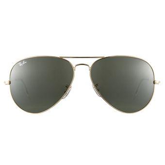 4418fabfa ... spain gafas de sol ray ban aviator 3026 l2846 dorado verde 62mm 8b6b1  6029e