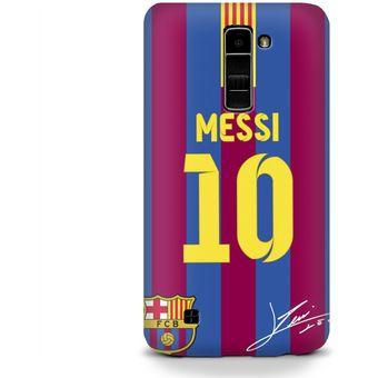 b9cf9eb4e756e Compra Carcasa para LG K10 Futbol Barcelona Messi online