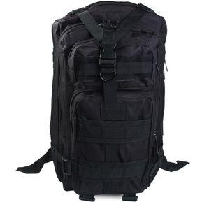 3P 30L Militar Mochila De Campamento Y De Excursión -Negro bf790992421f8