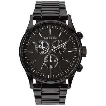 Reloj Nixon Sentry Chrono All Black