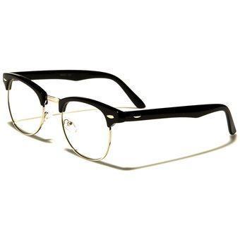 d1f17689f5 Agotado Gafas Monturas Oftálmicas Marco Tipo Clubmaster Para Lentes  Formulados Filtro UV - NERD027Am