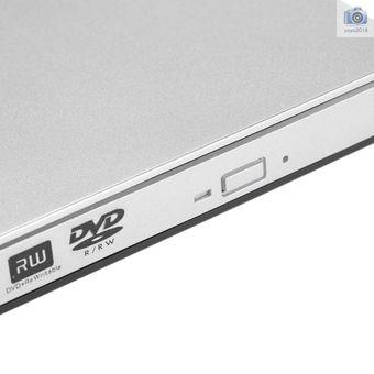USB 3.0 Portátil Ultra delgado Externo CD-RW DVD-RW CD DVD ROM Reproductor Unidad Escritor Regrabadora Grabadora para iMac / MacBook / MacBook Air / Pro Laptop PC Desktop
