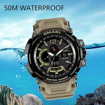 be78efa8d78a Compra Cronómetro Reloj Smael Militar Deportivo Resistencia Al Agua ...